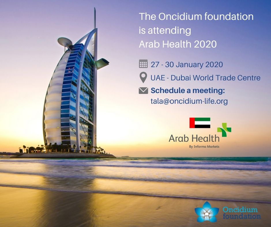 Oncidium at Arab Health 2020