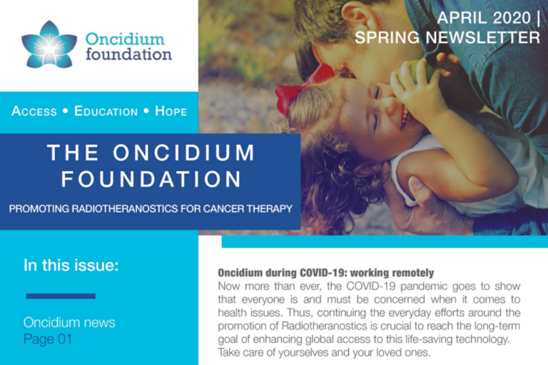 Oncidium Spring NEWSLETTER
