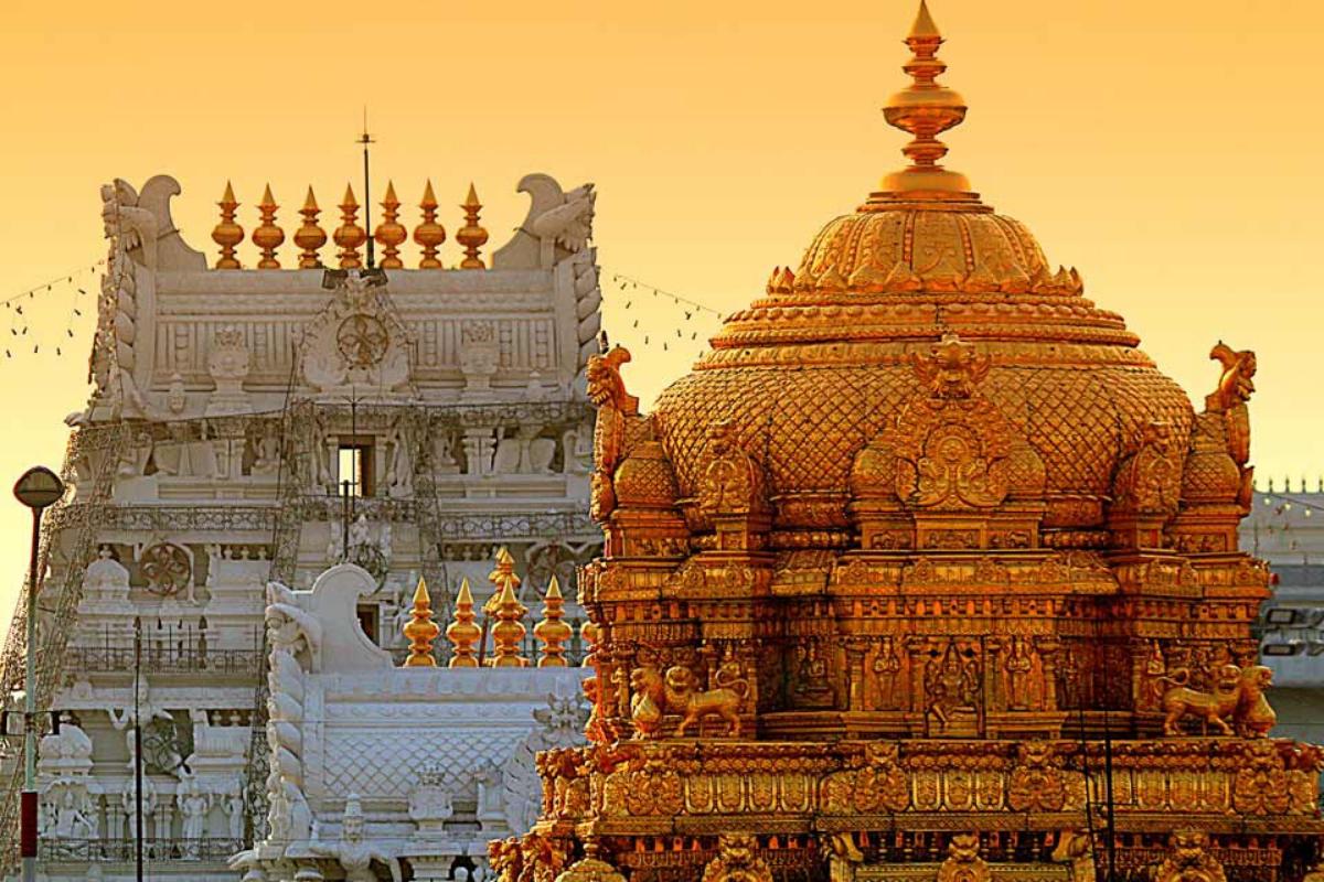 Vaishnavite shrine of Tirumala Venkateswara Temple, Tirupati, India