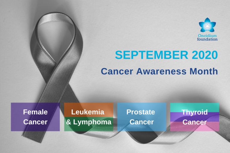 Cancer awareness month – September, don't forget to remember